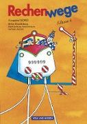Rechenwege, Ausgabe Berlin, Brandenburg, Mecklenburg-Vorpommern, Sachsen-Anhalt - 2004, 4. Schuljahr, Schülerbuch mit Kartonbeilagen