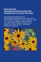 Mitglied Des Repräsentantenhauses Der Vereinigten Staaten Für Iowa
