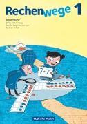 Rechenwege, Nord - Aktuelle Ausgabe, 1. Schuljahr, Schülerbuch mit Kartonbeilagen