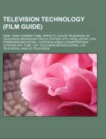 Television technology (Film Guide)