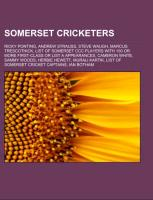 Somerset cricketers