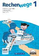 Rechenwege, Nord - Aktuelle Ausgabe, 1. Schuljahr, Arbeitsheft mit CD-ROM