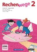 Rechenwege, Nord - Aktuelle Ausgabe, 2. Schuljahr, Arbeitsheft mit CD-ROM
