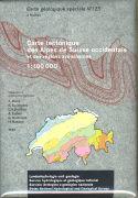 Carte tectonique des Alpes des Suisse occidentale et des régions avoisinantes 1:100'000