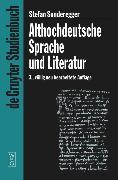 Althochdeutsche Sprache und Literatur