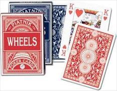 Wheels. Poker Cards