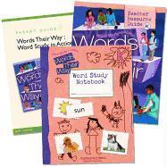 Words Their Way: Word Study in Action Home School Bundle Grade K 2005c
