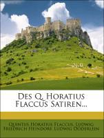 Des Q. Horatius Flaccus Satiren