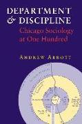 Department and Discipline