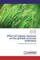 Effect of organic manures on the growth of Screw Vallisneria