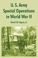 U. S. Army Special Operations in World War II