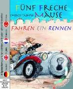 Fünf freche Mäuse fahren ein Rennen (Buch mit DVD)