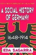 A Social History of Germany, 1648-1914