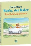 Boris, der Kater. Das Badewannenauto
