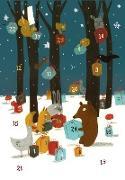 Weihnachten bei den Tieren im Wald