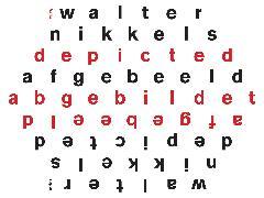 Walter Nikkels: Depicted / Afgebeeld / Abgebildet