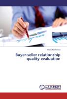 Buyer-seller relationship quality evaluation
