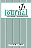 String Research Journal, Volume 3