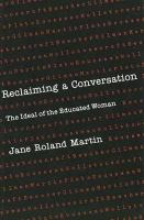 Reclaiming a Conversation: The Ideal of Educated Woman