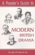 Reader's Guide to Modern British Drama