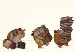 Bücherhamster ziehen um