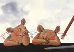 Schwein gehabt, Signore Raffael