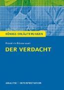 Der Verdacht von Friedrich Dürrenmatt - Königs Erläuterungen