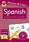 New Curriculum Practise & Learn: Spanish for Ages 5-7 - with Vocab CD-ROM