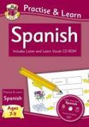 New Practise & Learn: Spanish for Ages 7-9 - with vocab CD-ROM