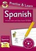 New Practise & Learn: Spanish for Ages 9-11 - with vocab CD-ROM