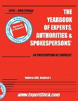 Yearbook of Experts, Authorities & Spokespersons -- 30th Annual - 2014 Edition