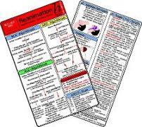 Reanimation - BLS - ALS - AED - Medizinische Taschen-Karte