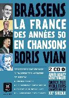 La France des années 50 en chansons (incl. 2 CDs)