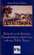 Nachricht von der Britischen Gesandtschaftsreise durch China und einen Teil der Tartarei (Berlin 1797)