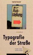 Typographie der Straße