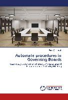 Automate procedures in Governing Boards
