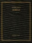 Sämtliche Schriften und Briefe Band 21. Allgemeiner politischer und historischer Briefwechsel April - Dezember 1702