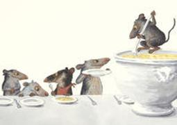 Suppensch-mäuse Postkarten
