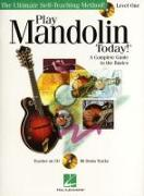 Play Mandolin Today] Level 1 (Book/CD)