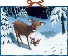 Rentier-Weihnacht Wandkalender