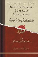 Guide to Printed Books and Manuscripts