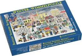 Wimmel-Puzzle Winter