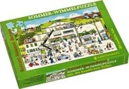 Wimmel-Puzzle Sommer