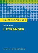 Albert Camus: L'Étranger - Der Fremde