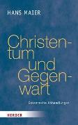 Christentum und Gegenwart