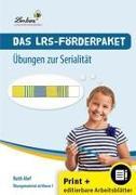 Das LRS-Förderpaket  Übungen zur Serialität (Set)
