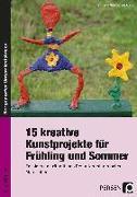 15 kreative Kunstprojekte für Frühling und Sommer