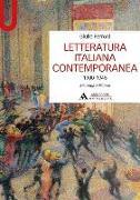 Letteratura italiana contemporanea 1900-1945