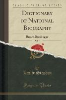 Dictionary of National Biography, Vol. 7