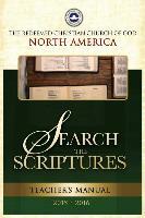 Search the Scriptures Teacher's Manual 2015/2016: Redeemed Christian Church of God